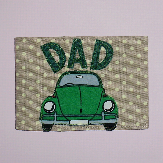 Travel card wallet Dad and beetle