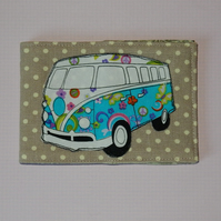 Travel card wallet Campervan