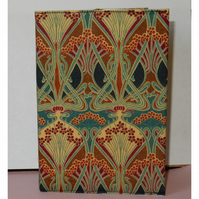 Diary A6 traditional Liberty print