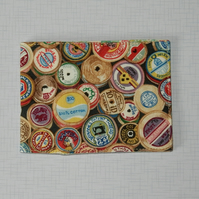 Travel card wallet Cotton reels