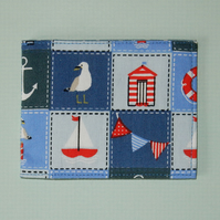 Travel card wallet Nautical