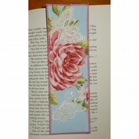 Bookmark flowers and butterflies