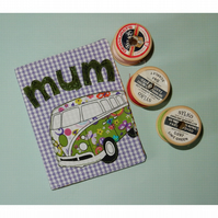 Needle case - Mum and Campervan