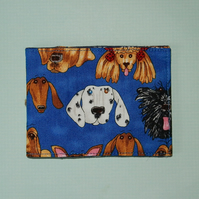 Travel card wallet Dalmatian and friends