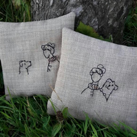 Sybil & Lottie lavender sachets - set of two.