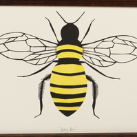 Honey Bee original screen print