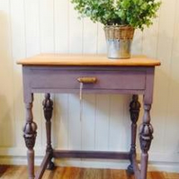 Beautiful 19th Century Hand Carved Side Table