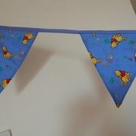 Bunting Baby Pooh Bear 10 Flags