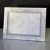 Anniversary Photo Frame in Wood