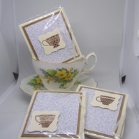 Set of three friendship teas.