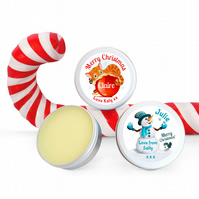 Christmas Gifts For Women Personalised Lip Balm