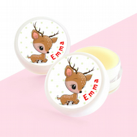Christmas Gift Ideas Personalised Lip Balm