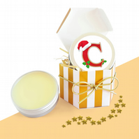 Christmas Gifts For Women Initial Lip Balm