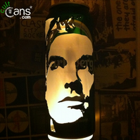 Morrissey Beer Can Lantern! The Smiths Pop Art Portrait Candle Lamp