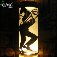 2 Tone Dancer Beer Can Lantern! Ska, Madness, The Specials Pop Art Lamp