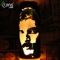 Freddie Mercury Beer Can Lantern! Queen Pop Art Portrait Lamp - Unique Gift!