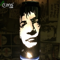 Mark E Smith Beer Can Lantern! The Fall Pop Art Portrait Lamp - Unique Gift!