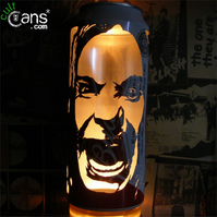 Ozzy Osbourne Beer Can Lantern! Black Sabbath Heavy Metal Pop Art - Unique Gift!