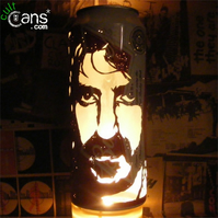 Frank Zappa Beer Can Lantern! Mothers Of Invention Pop Art Lamp - Unique Gift!