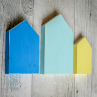 Minimalistic House Wall Art.90 Colour Options.