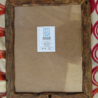 "Rustic,driftwood style picture frame to fit 14""x11"""