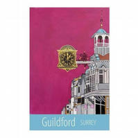 Guildford print - unframed