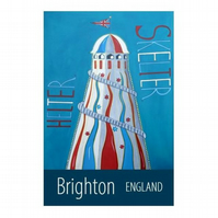 Brighton print - unframed