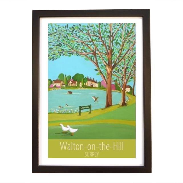Walton-on-the-Hill black frame