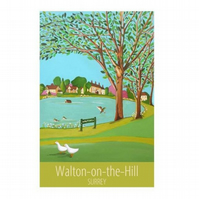Walton-on-the-Hill unframed