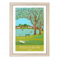 Walton-on-the-Hill white frame