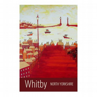 Whitby print - unframed