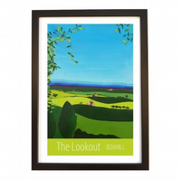 Lookout, Boxhill black frame