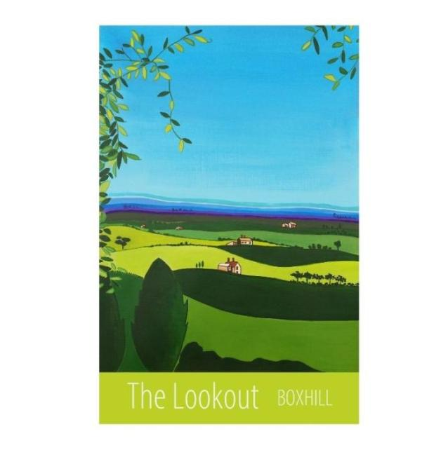 Lookout, Boxhill - unframed
