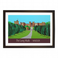 Long Walk Windsor black frame