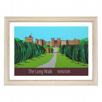 Long Walk Windsor white frame