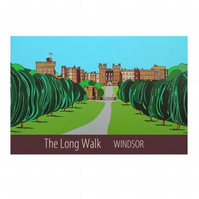 Long Walk Windsor - unframed