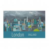 London print - unframed