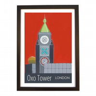 Oxo Tower black frame