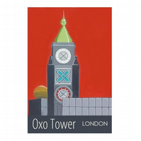 Oxo Tower - unframed
