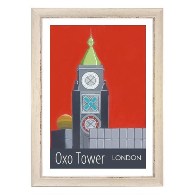 Oxo Tower white frame