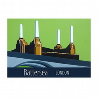 Battersea print - unframed