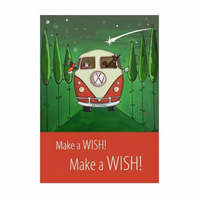 """Wish"" print - unframed"