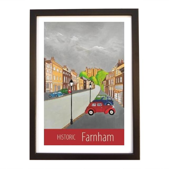 Historic Farnham black frame