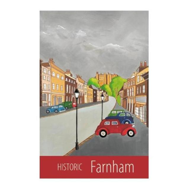 Historic Farnham - unframed