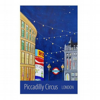 Piccadilly Circus - unframed