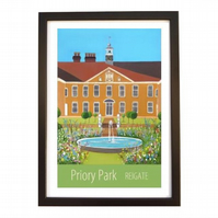Priory Park Reigate black frame