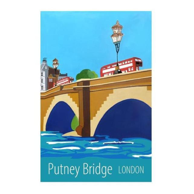 Putney Bridge London - unframed