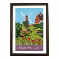 Reigate Heath black frame