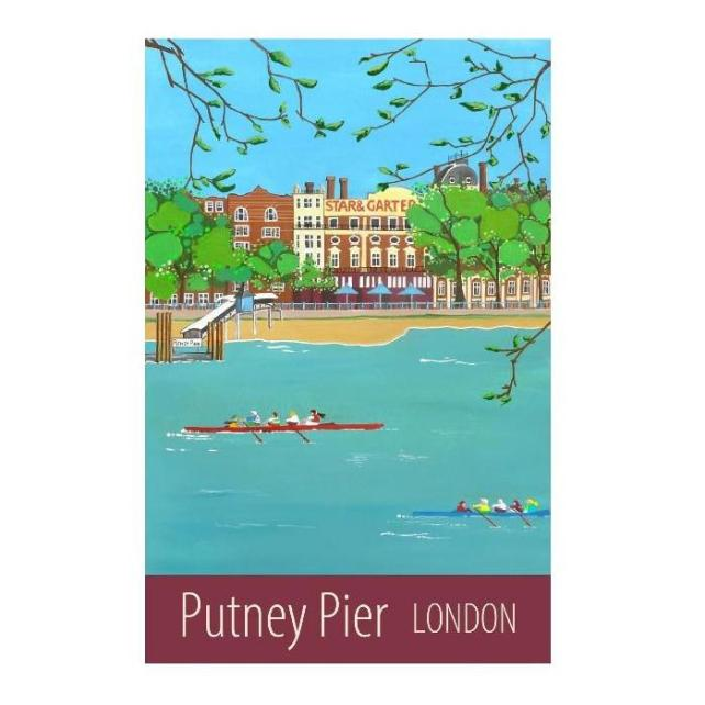 Putney Pier London - unframed