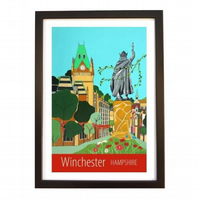 Winchester Hampshire black frame